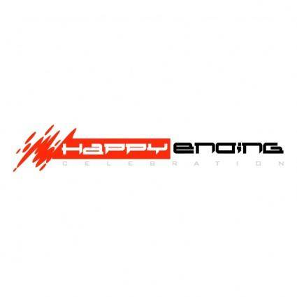 free vector Happy ending