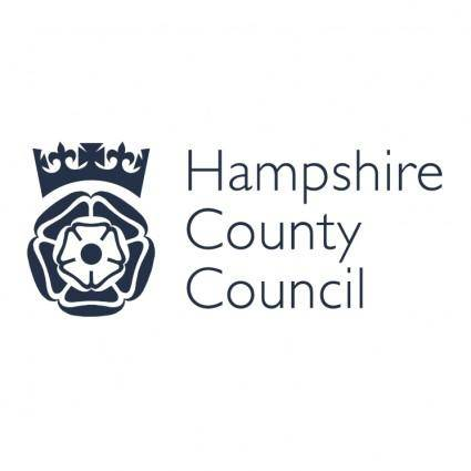 free vector Hampshire county council 0