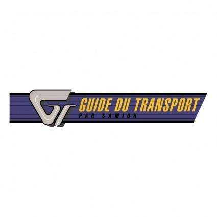 Guide transport par camion