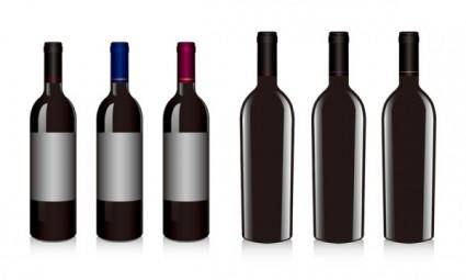 free vector Vector red wine