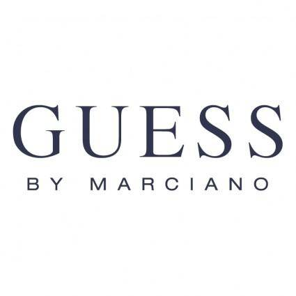 free vector Guess by marciano