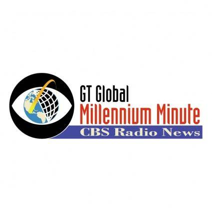 free vector Gt global millenium minute