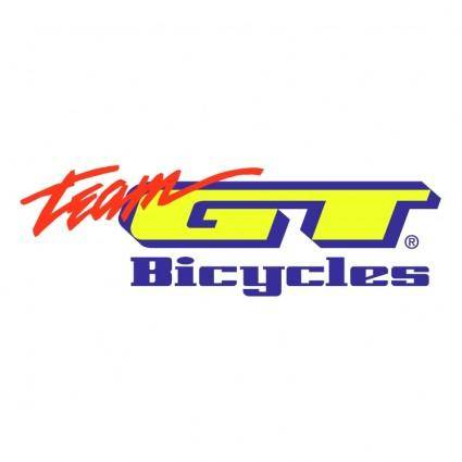 free vector Gt bicycles team