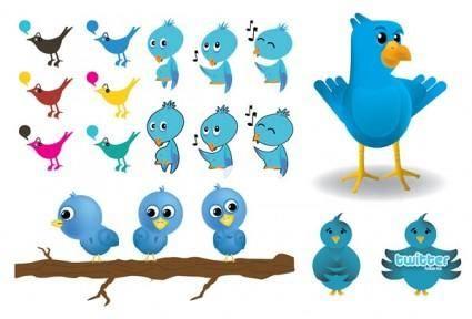 free vector Twitter image vector
