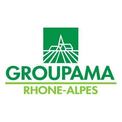 free vector Groupama rhone alpes