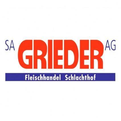 free vector Grieder ag