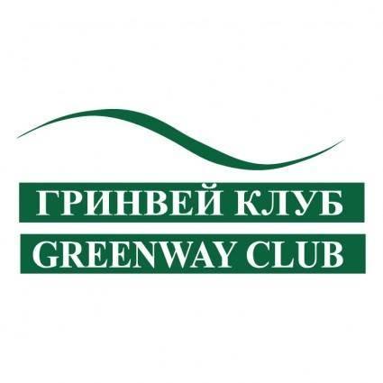 free vector Greenway club