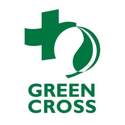 free vector Green cross