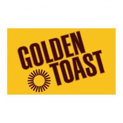 free vector Golden toast