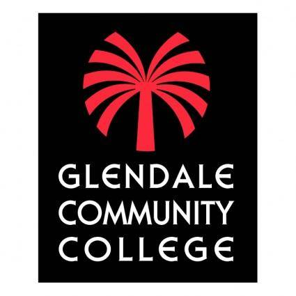 free vector Glendale community college 1