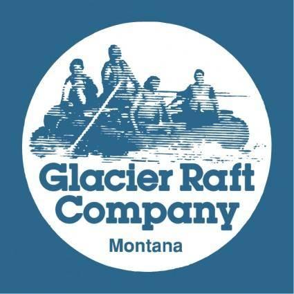 free vector Glacier raft company