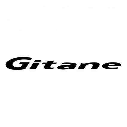 free vector Gitane cycles