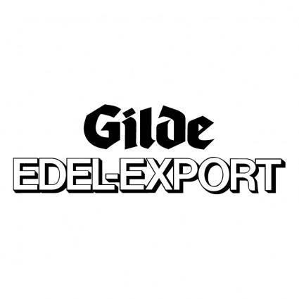 Gilde edel export