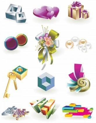 free vector 3d vector fashion art of living