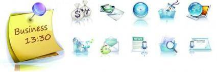 free vector Business exquisite 3d vector 1