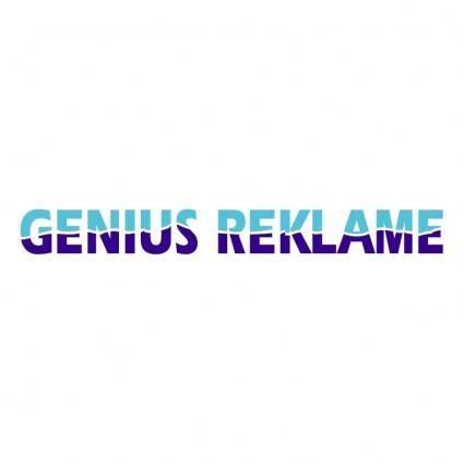 Genius reklame