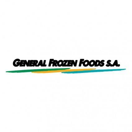 free vector General frozen foods sa