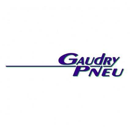 Gaudry pneu