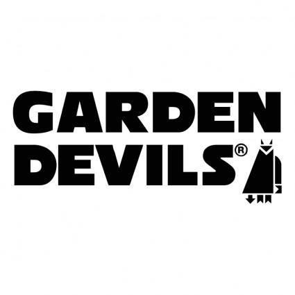 free vector Garden devils