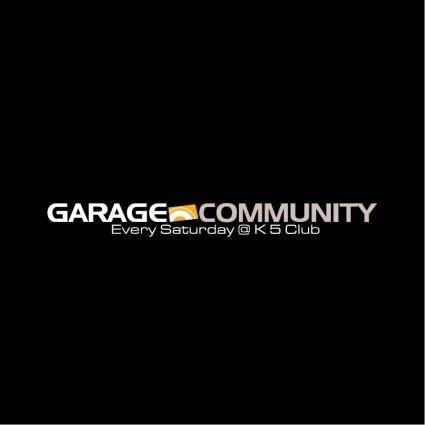 free vector Garage community