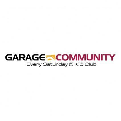 free vector Garage community 0