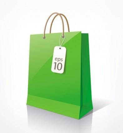 Shopping bags 02 vector