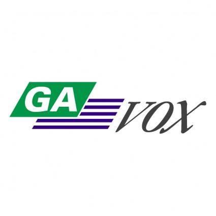 free vector Ga vox