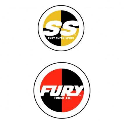free vector Fury skateboard trucks