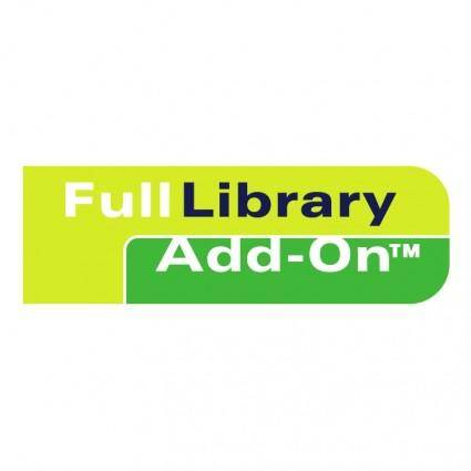 free vector Full library add on