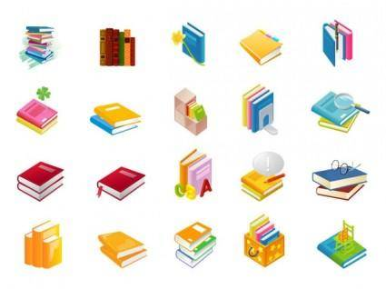 free vector Book series vector of the nine