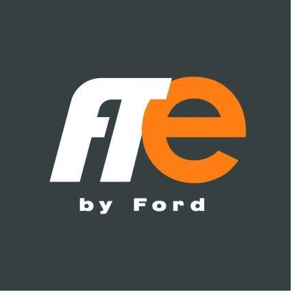 free vector Fte by ford