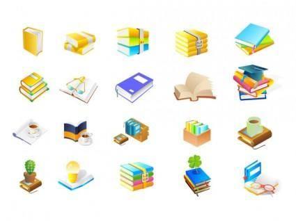 Books of ten series vector