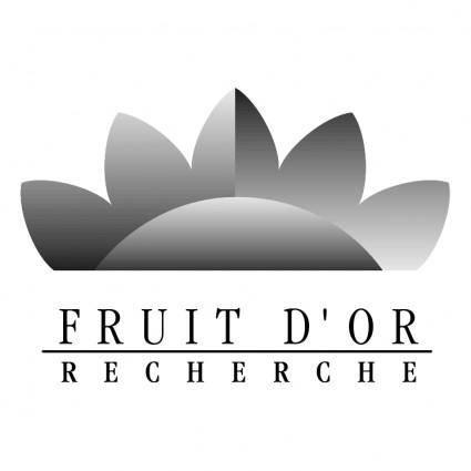Fruit dor recherche 0