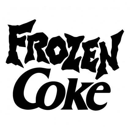 free vector Frozen coke