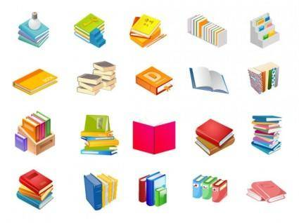 free vector Books of twelve series vector