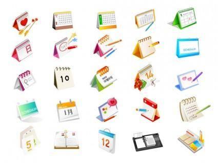 free vector Vector calendar