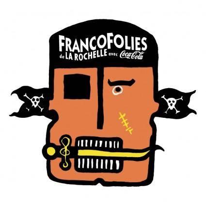 free vector Francofolies de la rochelle