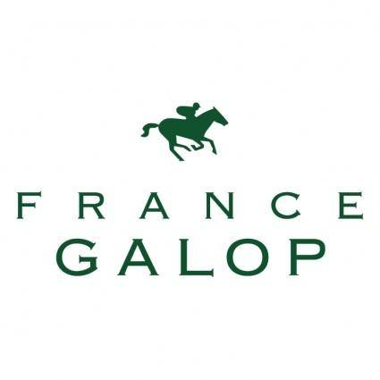 free vector France galop