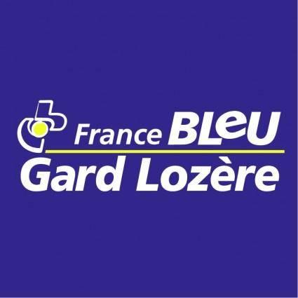 free vector France bleue gard lozere