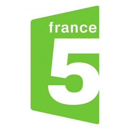 free vector France 5 tv