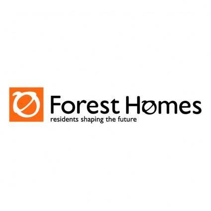 free vector Forest homes
