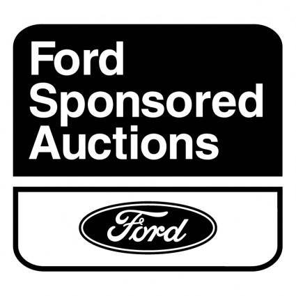free vector Ford sponsored auctions