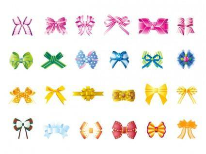 free vector Beautiful bow vector