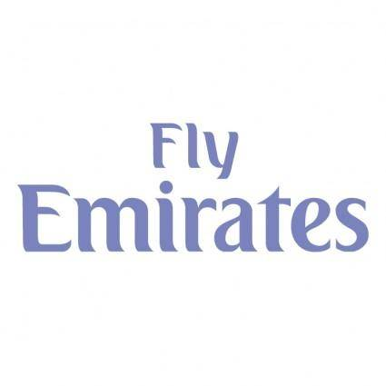 free vector Fly emirates