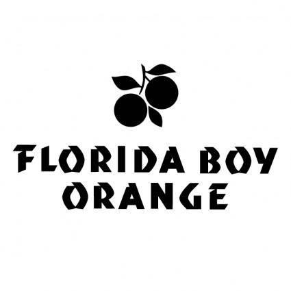 free vector Florida boy orange