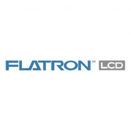 free vector Flatron lcd