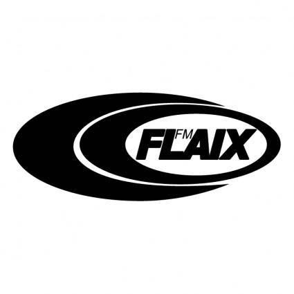 free vector Flaix fm
