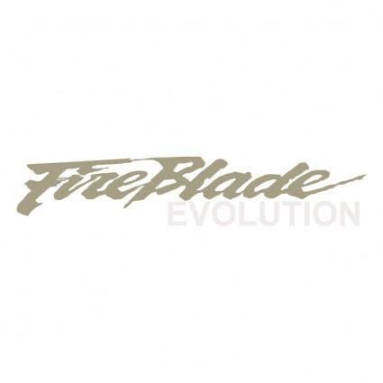free vector Fireblade evolution