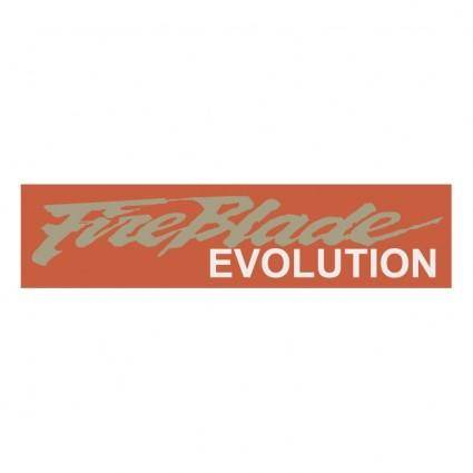 free vector Fireblade evolution 0