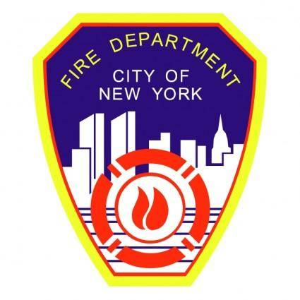 free vector Fire department city of new york